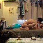 (個人撮影)同棲を始めた大学生のカップルww彼氏が隠しカメラでセックスシーンも全部盗撮www【XVIDEOS】