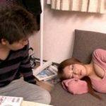 (さとう遥希)昔は地味だった妹が超可愛くなって上京し兄の家にお泊りww胸の谷間が見える無防備な姿で寝てしまい…兄、発情して理性崩壊【Tube8】
