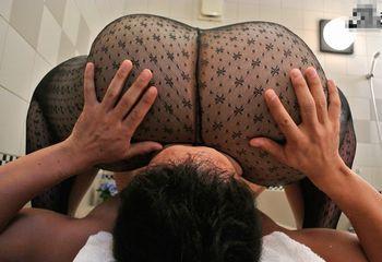 (藤木静子)脅威の121cmヒップを淫らにクネらせる美熟女が肉感爆尻ソープでチェリーボーイが肉塊に埋もれて童貞喪失ww 【FC2動画】