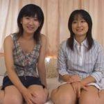 (素人レズ)女の子をイカせるのが得意だという21歳のリサちゃんが19際の渚ちゃんを優しく愛撫しますww二人とも美乳ですねww【素人動画】