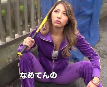 (上原花恋)ノリでAVに応募してきたバリバリのヤンキー娘がオヤジとガチSEXww最初は不機嫌な態度なのにチンポ挿れると恥ずかしがり…【Tube8】