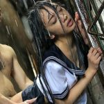 (辻本杏)下校途中、突然の雨にずぶ濡れになってセーラー服が透けてしまい…それを見て理性を失った男が襲いかかり犯してしまう【Share Videos】
