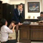 (青木美空)ミニスカ&黒パンスト才色兼備キャリアウーマンの美人秘書が社長室で「ストーップ!」されてイタズラし放題、ヤリたい放題ww【Pornhub】
