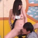 【全裸フェチのあなたへ】AVの撮影現場で新人の女性ADは全裸で研修ww本番さながらの中出しSEXリハーサルww