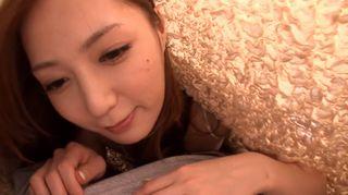【主観】妄想しましょう…こんな可愛い彼女と同じ布団で目が覚めて、イチャイチャしてフェラしてくれる…たまらんww